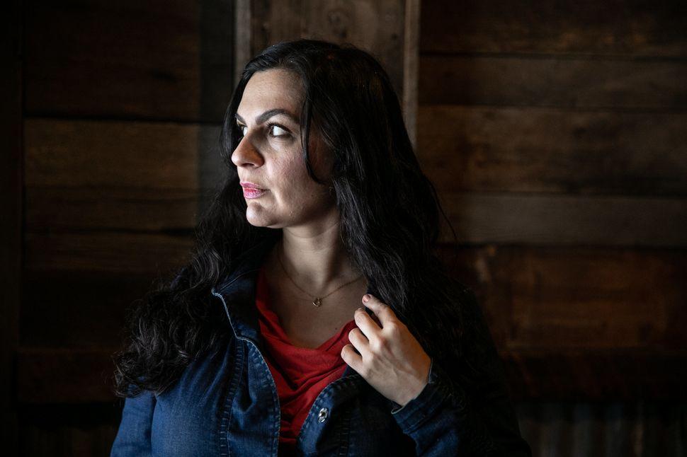 Nina Kouprianova poses for a portrait in Whitefish,