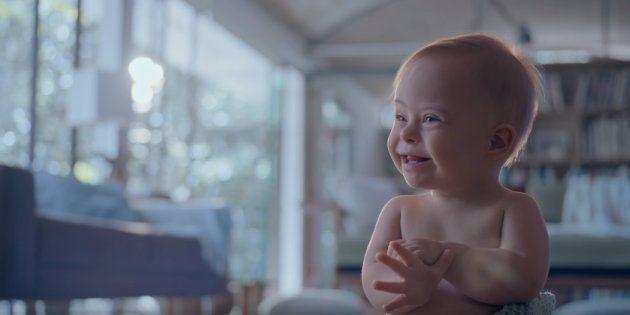 O pequeno Lucca, de 1 aninho, é a estrela da nova campanha de Dia das
