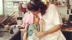A mãe solo Paola Carosella desmistifica a maternidade: 'Seja livre e não sinta