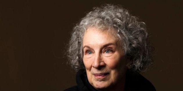 A escritora canadense Margaret Atwood em