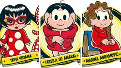Marina Abramović, Tarsila do Amaral e Yayoi Kusama agora fazem parte da 'Turma da