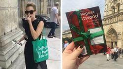 Emma Watson está escondendo exemplares de 'O Conto de Aia' por