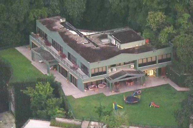 Casa onde Eike Batista cumpre prisão domiciliar, no Jardim Botânico, zona sul do
