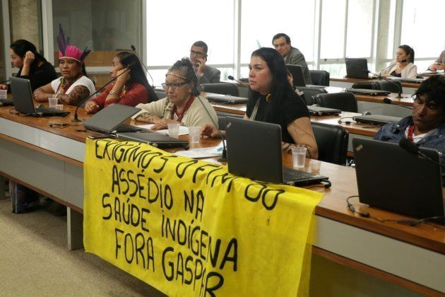 Indígenas denunciam casos de assédio sexual no