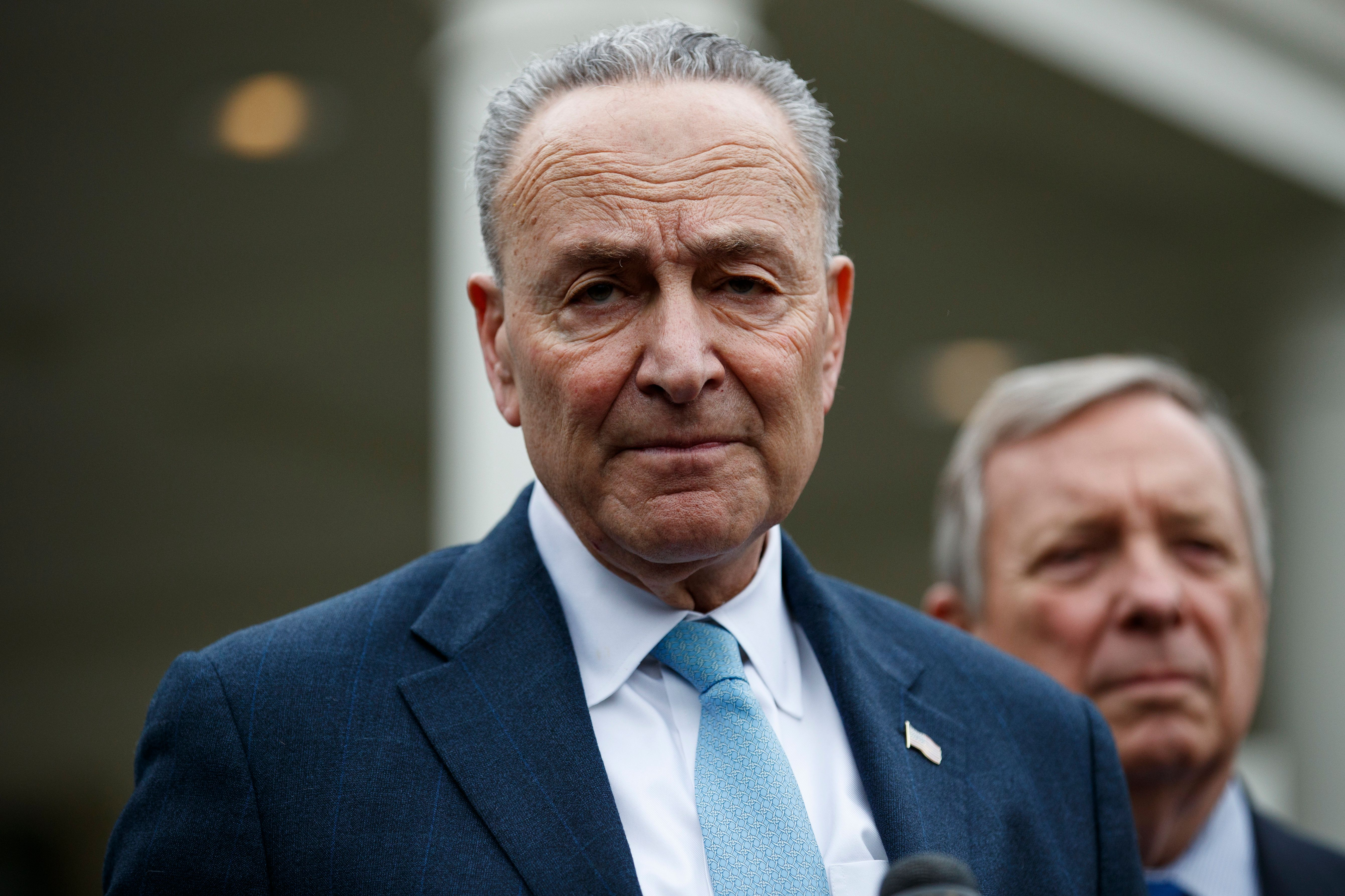 Senate Democrats Block GOP Middle East Bill Over Shutdown