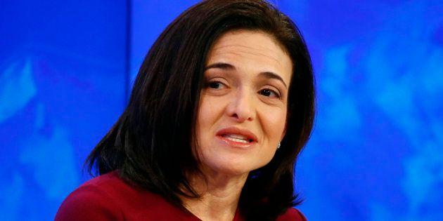 A executiva-chefe operacional do Facebook, Sheryl