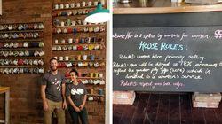 Um café na Austrália cobra 18% a mais de homens para compensar salário mais baixo para