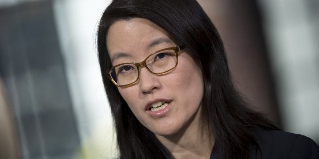 Ellen Pao, sócia do Kapor Capital e ex-investidora do Kleiner Perkins Caulfield, fala em San Francisco,...