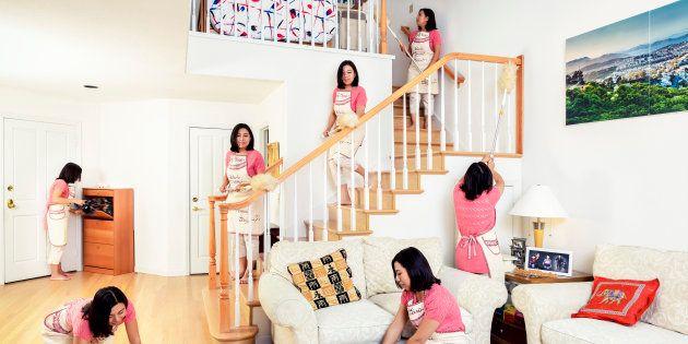 As mulheres percebem a vida conjugal como uma vida com mais conflitos do que os homens percebem, justamente...