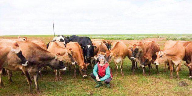 Marlene Kaiut é produtora de leite no interior do