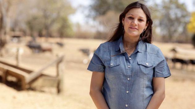 Marlene Kaiut transformou a produção de leite em sua
