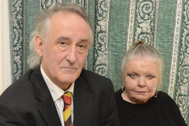 Contaminated blood victim Steve Dymond, who died aged 62, and his wife Su