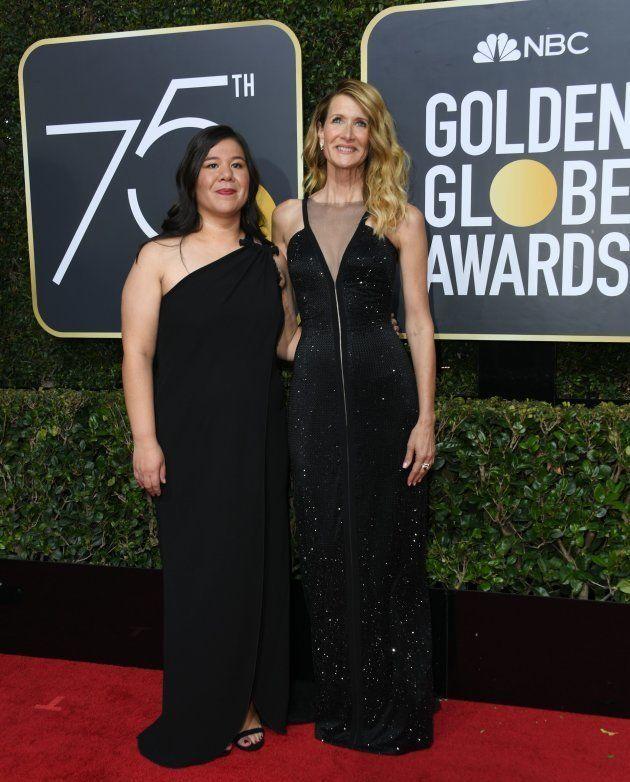 Você não percebeu, mas 8 ativistas feministas passaram pelo tapete vermelho do Globo de Ouro