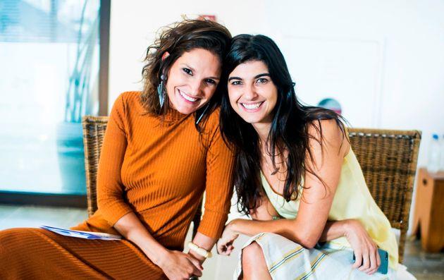 Nathália Roberto e Clarissa Soneghet, sócias da Kind, empresa que cria experiências voltadas para