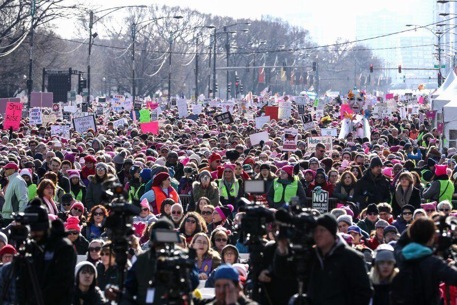 19 imagens inspiradoras da luta contra o machismo na 'Marcha das