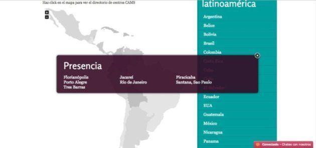 No Brasil, a organização tem representantes em diversas