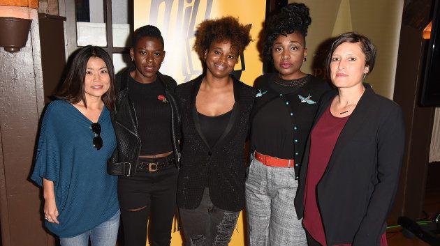 Mako Kamitsuna, Angie Wells, Dee Rees, Tamar-Kali e Rachel