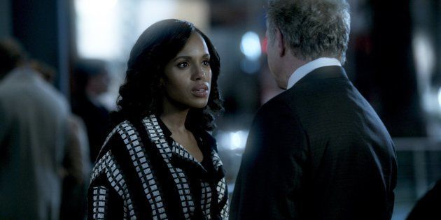 Kerry Washington interpreta Olivia Pope, em