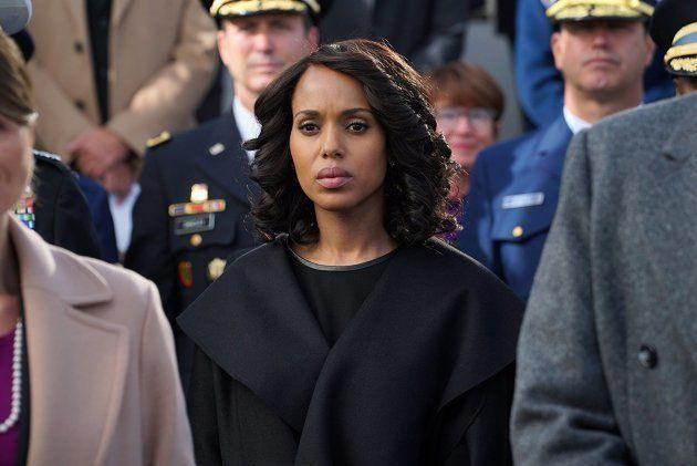 Kerry Washington como Olivia Pope, em episódio de