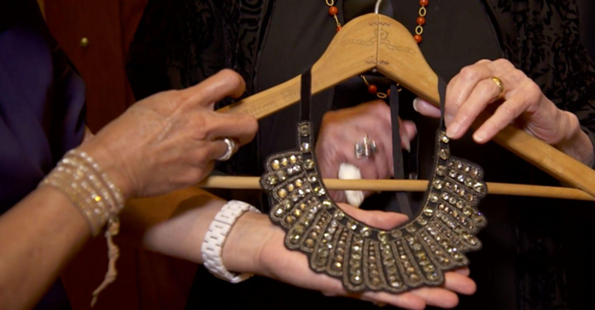 262d2562d Ruth Bader Ginsburg's 'Dissent Collar' Is Back At Banana Republic |  HuffPost Life