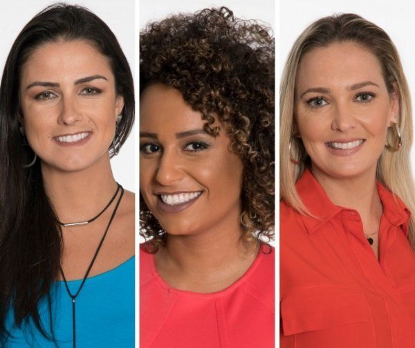 Helena Calil, Nadine Alves e Nadine Bastos integram time feminino da Fox