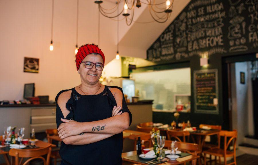 Hoje dona de restaurante, Márcia Monteiro se tornou chef há apenas 5
