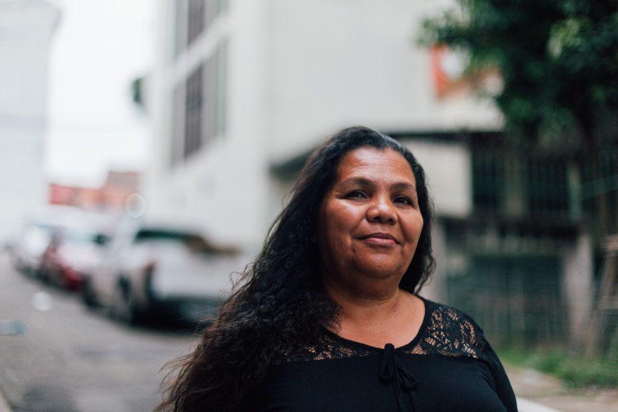 Empresária e líder comunitária, Dona Jura, de 59 anos, chegou há 37 anos na comunidade de Heliópolis:...