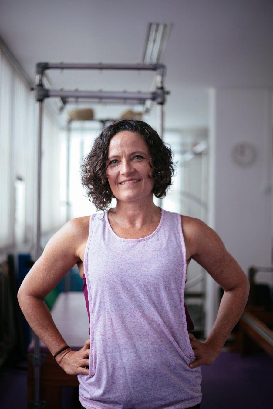 Se você mora no Brasil e conseguiu, através do pilates, melhorar a postura, dar aquela tonificada nos...