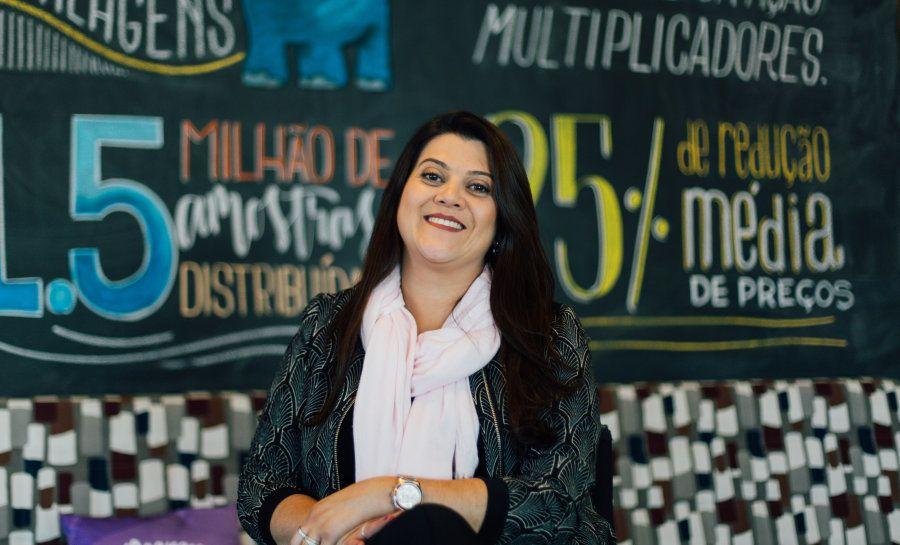 Ana Costa vê o lado positivo da vida em sua experiência como