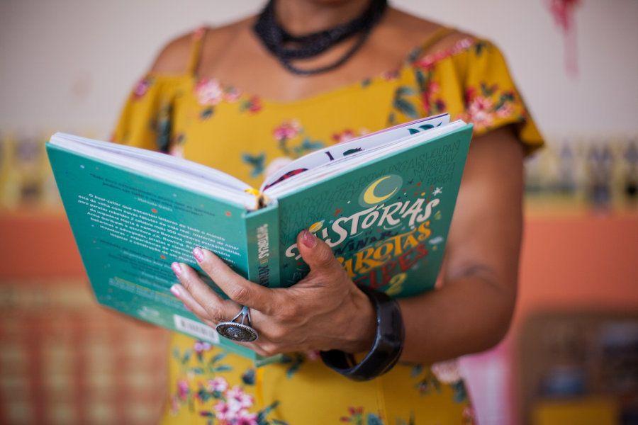 Aprender a ler e conhecer histórias de mulheres tão incríveis quanto ela mesma só fez Wilma crescer....