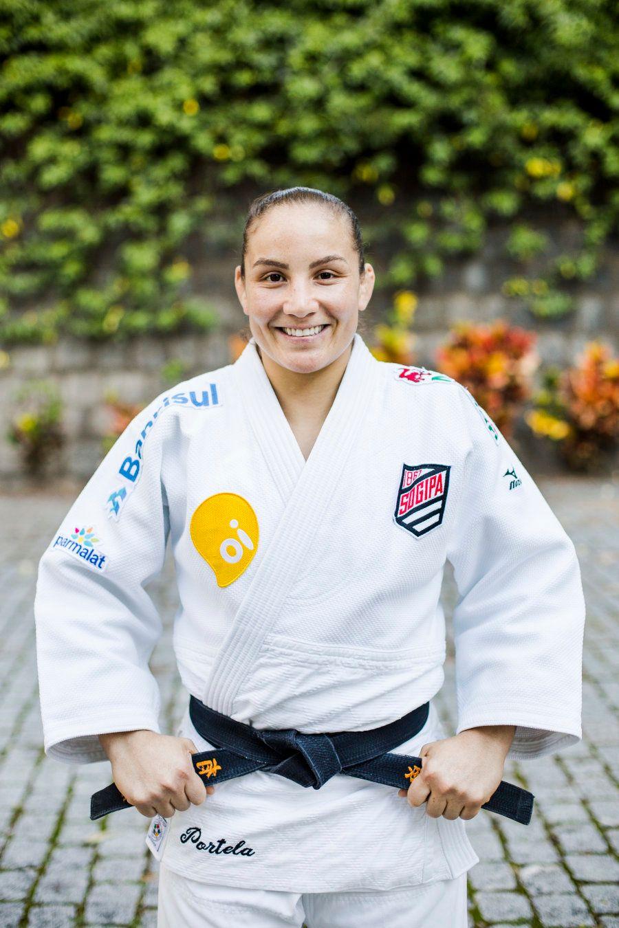 Maria Portela correu - e muito - atrás do sonho de ser uma atleta olímpica. E veste o uniforme com