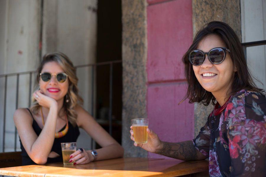 Camila Carvalho e Nathália Freitas contam a 86 história do projeto