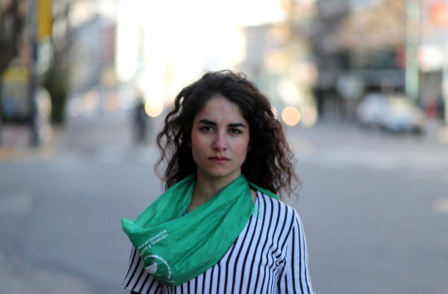 Victoria Albornoz Saroff, que fez um aborto há alguns anos no