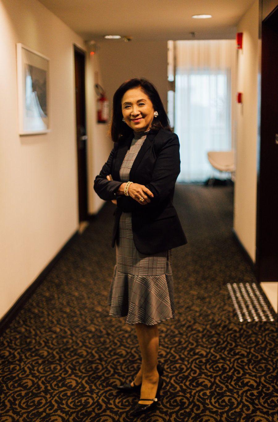 Palestrante, Chieko Aoki divulga o que é o bem cuidar — do negócio, dos funcionários, dos