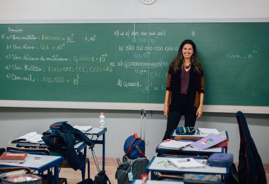 Ao trocar o consultório pela sala de aula, Cristina se encontrou profissionalmente -- e encontrou um...
