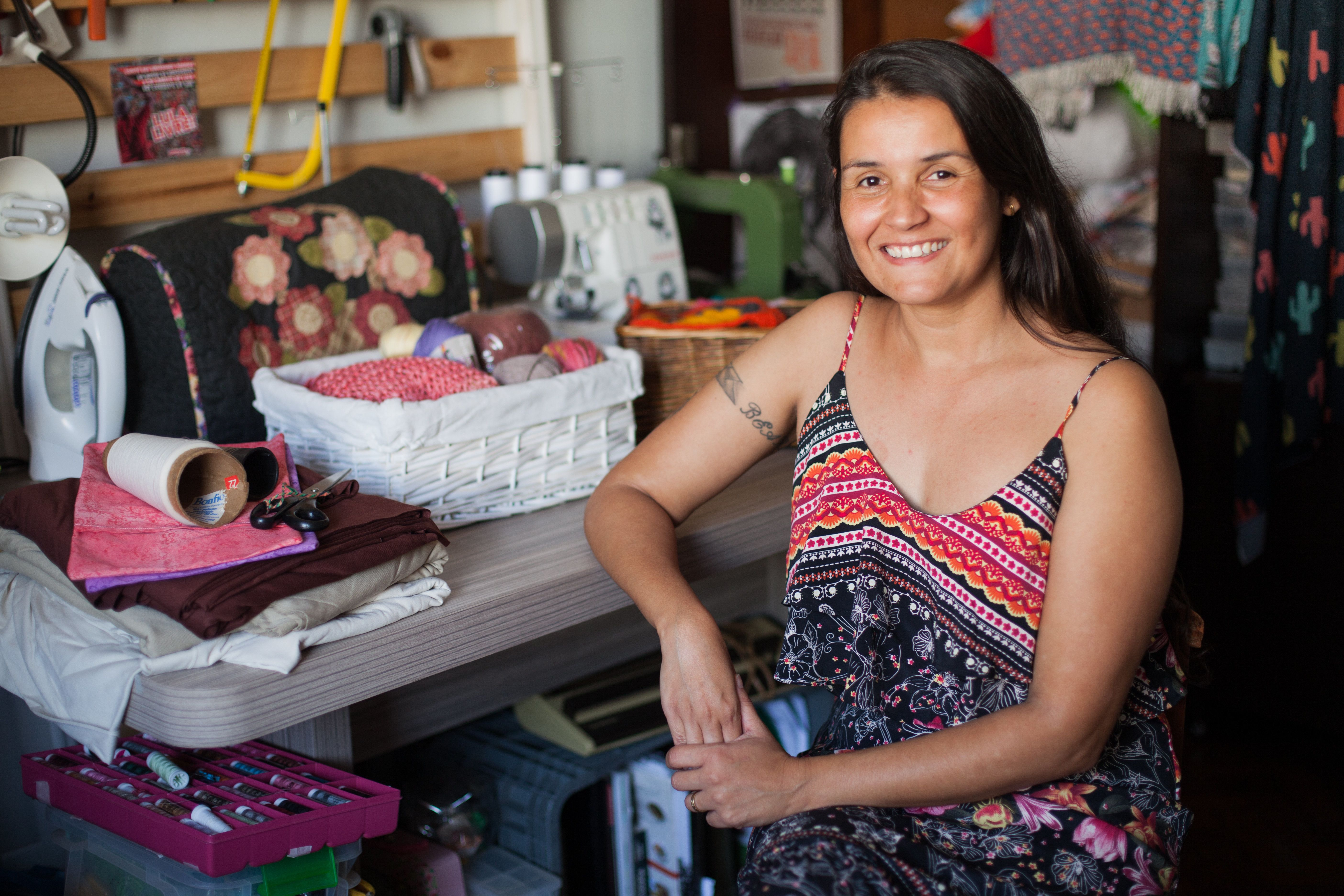 Rachel Bessa 'Potira': Quando tricô, bordado e crochê resgatam a