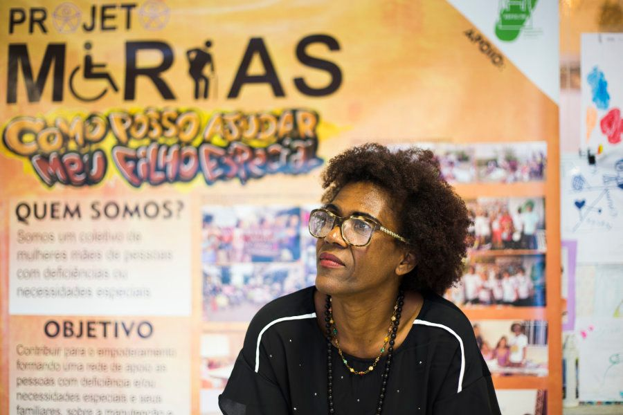 O Projeto Marias quer acabar com o sentimento de abandono que toma as mulheres quando descobrem a deficiência...