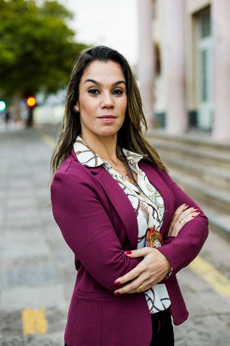 Tatiana Bastos, uma delegada de polícia na cruzada contra a violência