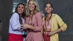 Rosa, Marta e Paolla: um trio distinto para unir e