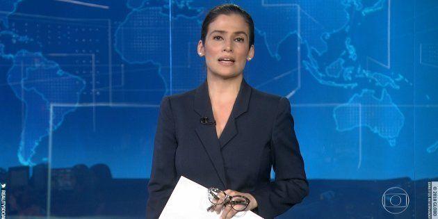 Renata Vasconcellos endureceu com Bolsonaro no Jornal Nacional nesta terça-feira