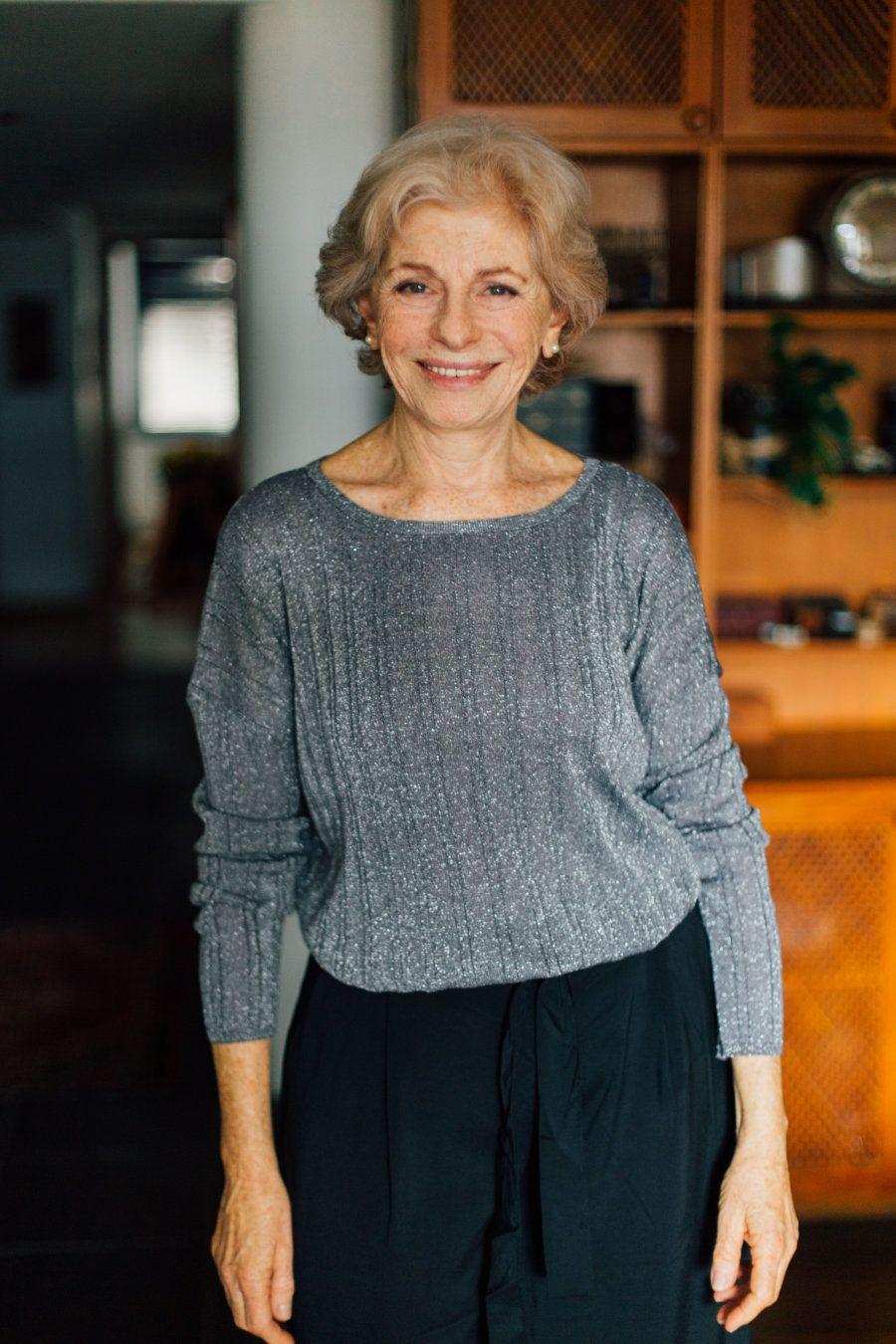 Lilian Blanc: Ela começou a estudar teatro aos 40 anos e realizou sonho de ser