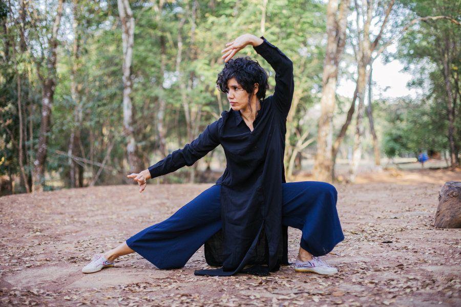No kung fu, Carol precisou encarar barreiras que ela acreditava que a impediam de ir