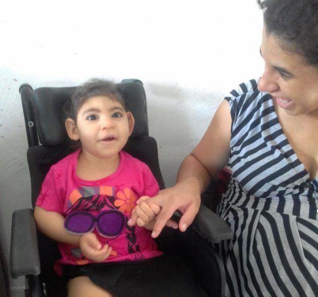 O município onde Carol vive, Esperança, não oferece os serviços que sua filha, Gabi,