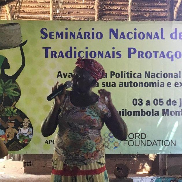 Dona Dijé fundou, em 1990, ao lado de outras mulheres, o Movimento Interestadual das Quebradeiras de...