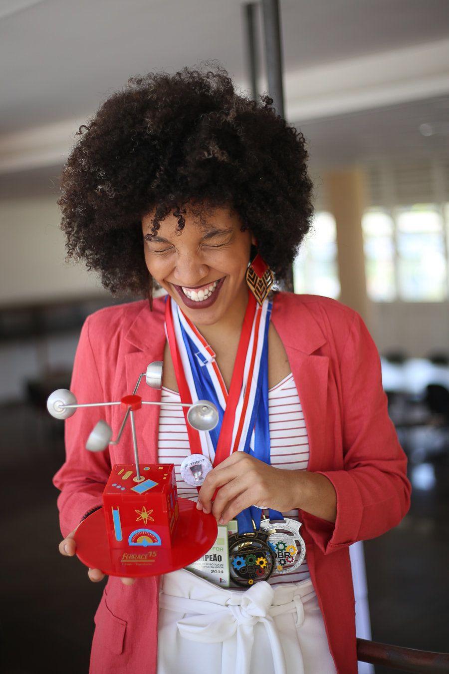 Medalhas e prêmios não foram suficientes para Lorenna: é tempo de desenvolver um produto que pudesse...