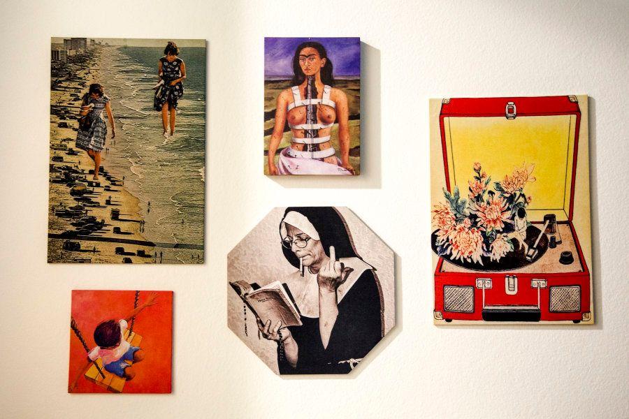 Em seu apartamento, na zona metropolitana no Rio de Janeiro, as referências estão -- desde livros --...
