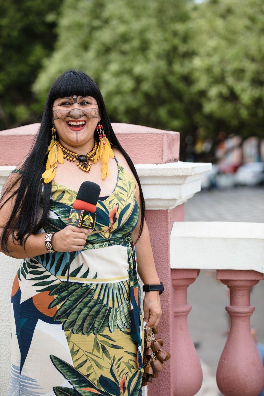 Kayna Mundukuru é a entrevistada 203ª do