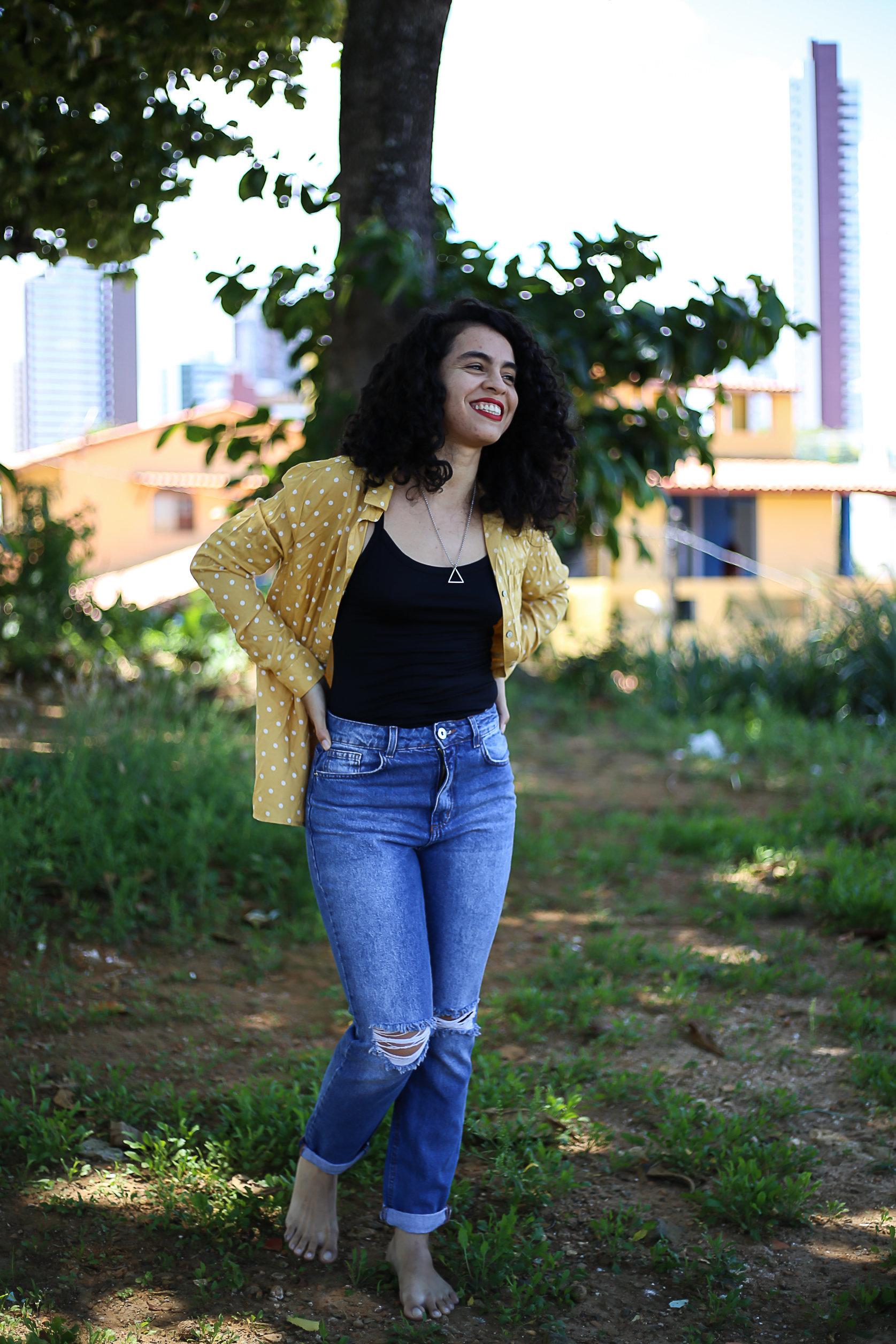 Aline Lucena, a dançarina que não cansa de estar em