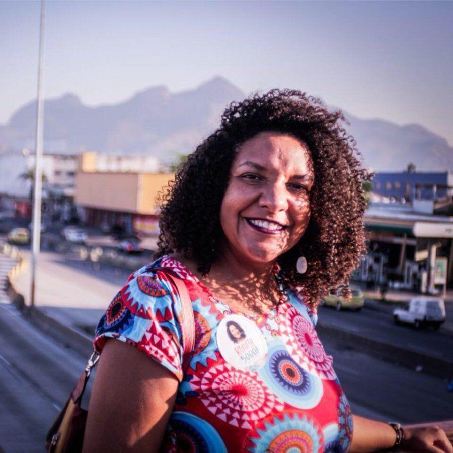 Renata Souza, que trabalhava como assessora de Marielle Franco, foi eleita deputada estadual no Rio de