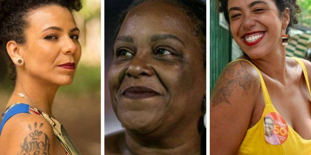 Áurea Carolina, Mônica Francisco e Talíria Petrone foram mulheres eleitas em Minas Gerais e Rio de Janeiro,